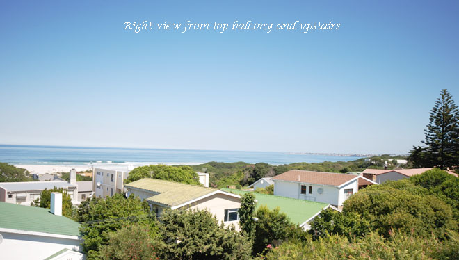 Hermanus house right view